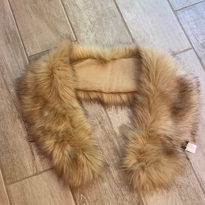 Fur shoulder wrap